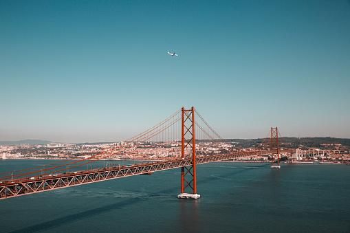 25th of April Bridge in Lisbon (The 25 de Abril Bridge)