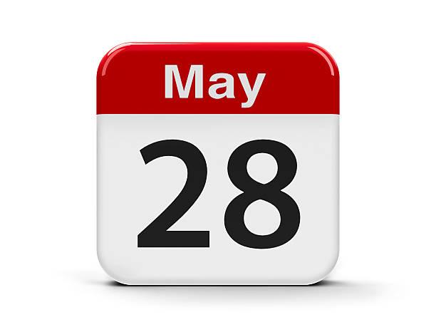 28 de mayo - foto de stock