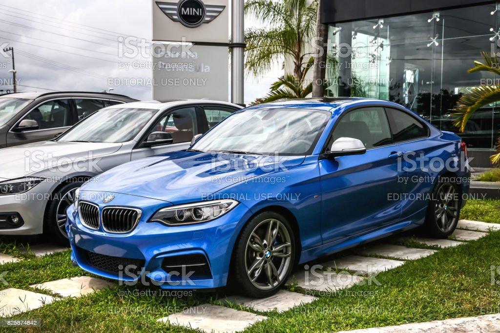 BMW 2-series stock photo