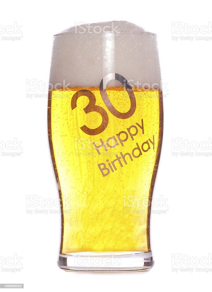 30 Geburtstag Bier Stock Fotografie Und Mehr Bilder Von 30
