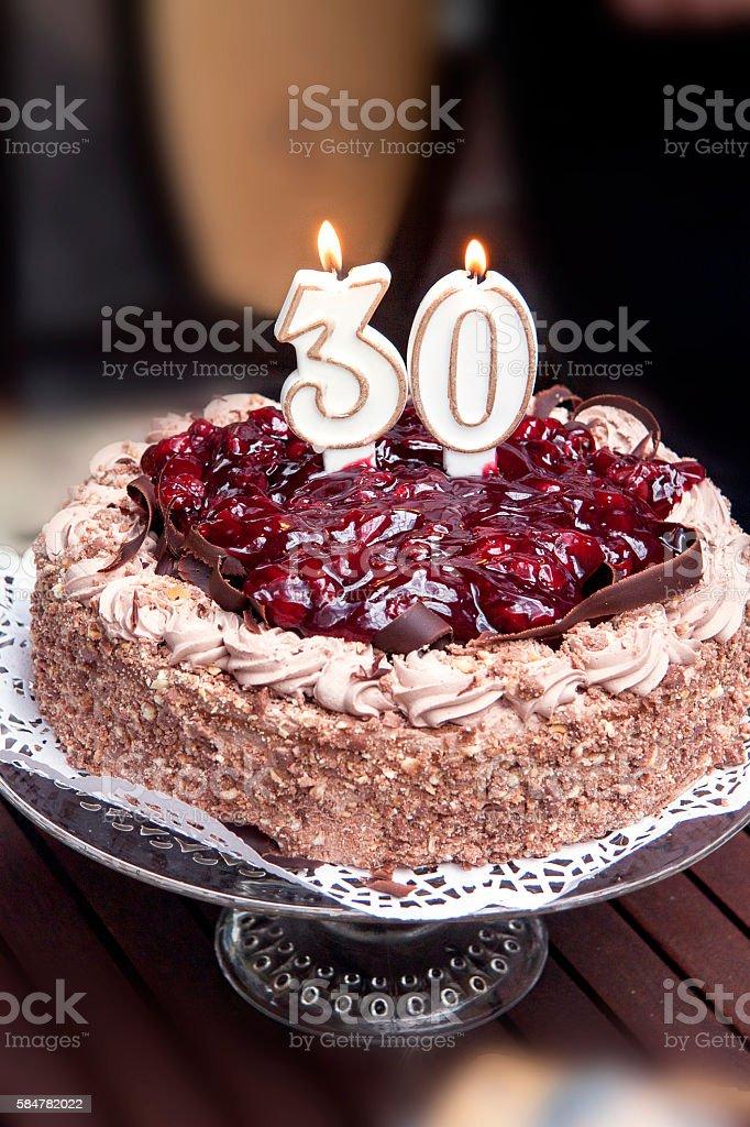 30 urodziny tort – zdjęcie