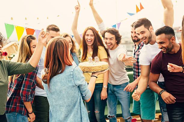 30th Birthday Party stock photo