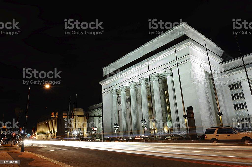 30th Street Station in Philadelphia stock photo