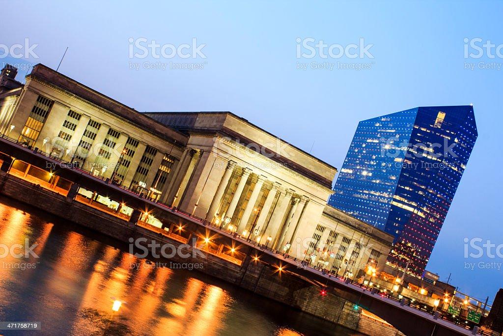 30th street station philadelphia stock photo