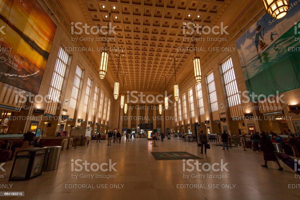 30th street train station stock photo