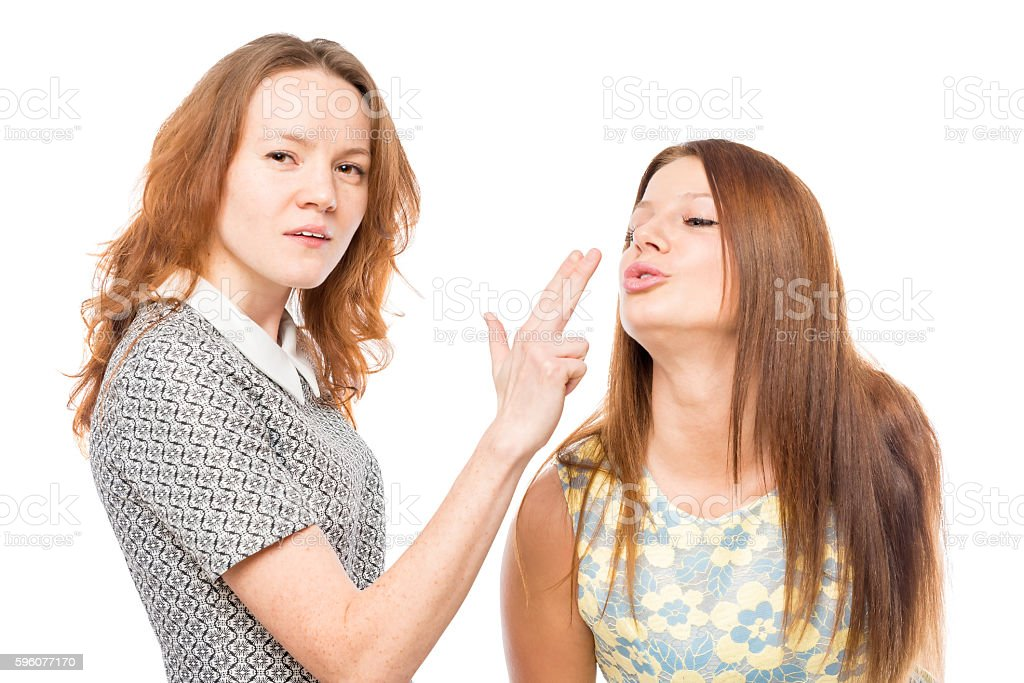 30-year-old girlfriends having fun and posing royalty-free stock photo