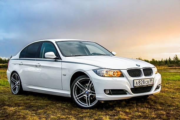 BMW E90 318i stok fotoğrafı