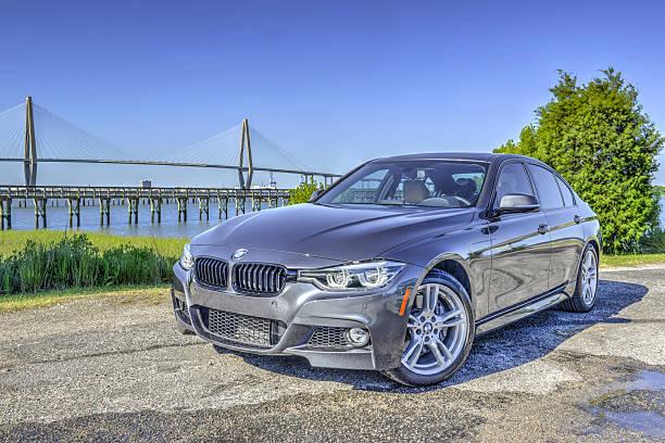 BMW 340i 2016 11 stock photo