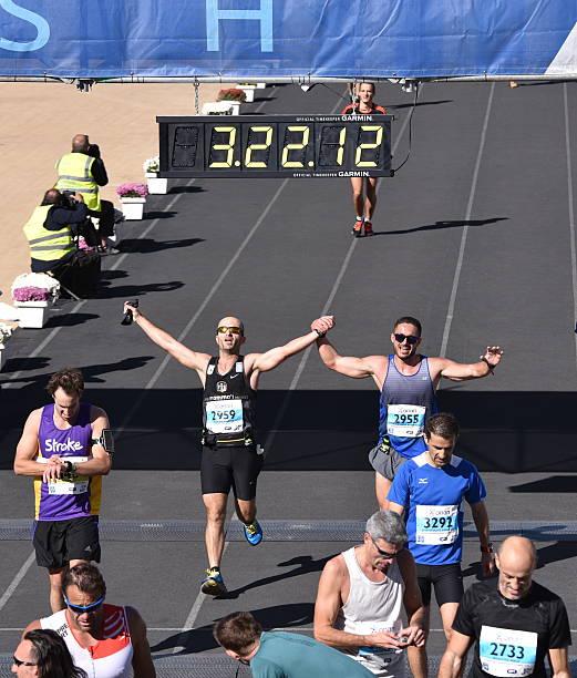 34th Athens Classic Marathon moments stock photo