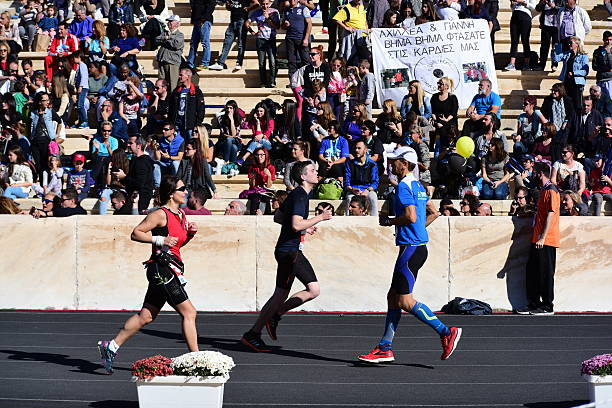34th Athens Classic Marathon stock photo
