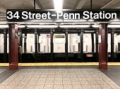 34th street  subway station in New York City