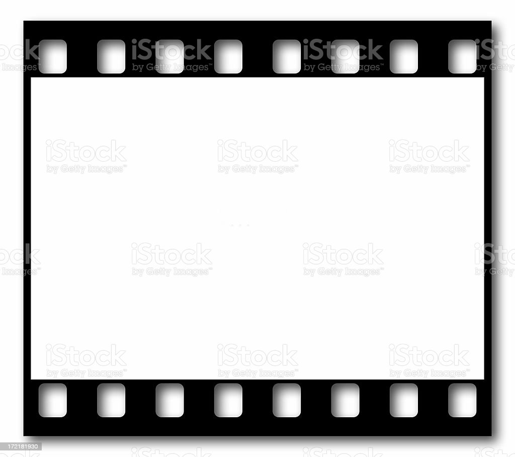 35mm film frame royalty-free stock photo