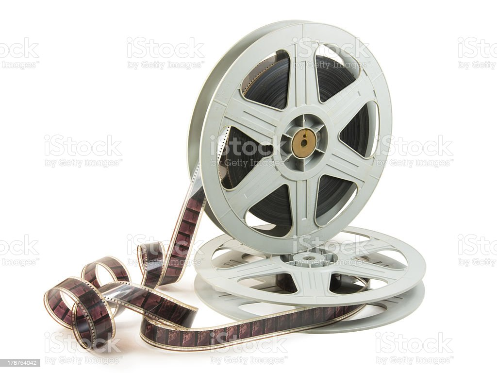 35mm Film In Two Reels - Royalty-free Antique Stock Photo