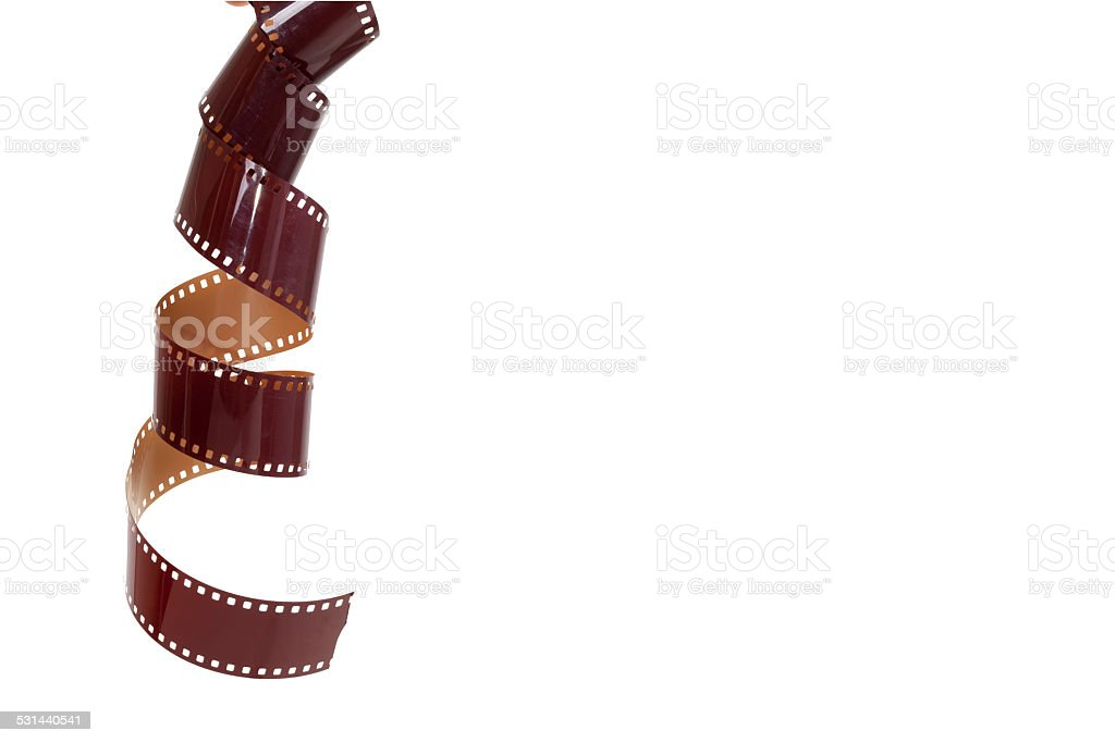 35mm old photography film stock photo