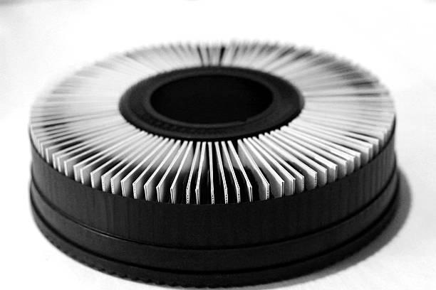 Panier circulaire de diapositives de 35 mm - Photo