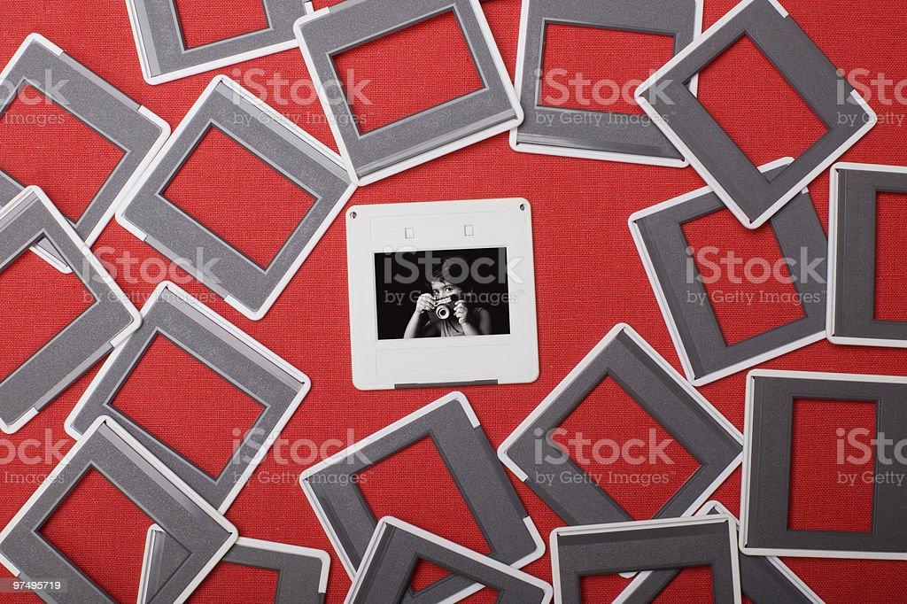 35mm Slides royalty-free stock photo