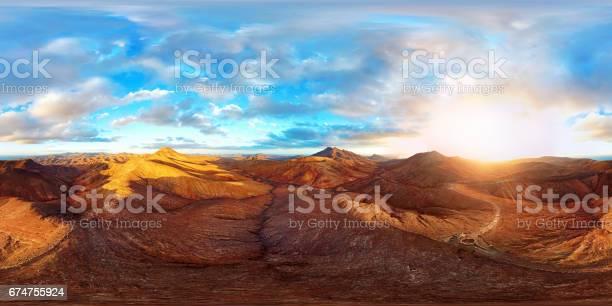 360x180 degree full spherical aerial panorama of desert landscape in picture id674755924?b=1&k=6&m=674755924&s=612x612&h=zuampdjk7u0qhilipne5o2kl avh0be13yj vulaelw=