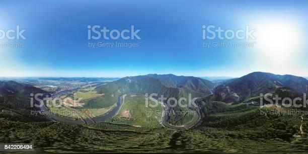 360x180 degree full spherical aerial panorama of domasinsky meander picture id842206494?b=1&k=6&m=842206494&s=612x612&h=6 g5roq6x897oz4qqunehlrq45lh2vplladztfenocy=