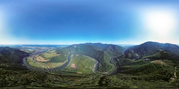 360x180 degree full spherical aerial panorama of domasinsky meander picture id842206494?b=1&k=6&m=842206494&s=612x612&w=0&h=vpv zpjjosctkte3m8npnu6eb kvxndqwyvln 9t 3a=