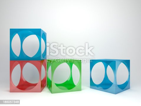 175439992istockphoto 3d abstract advertisement cubes 185057348