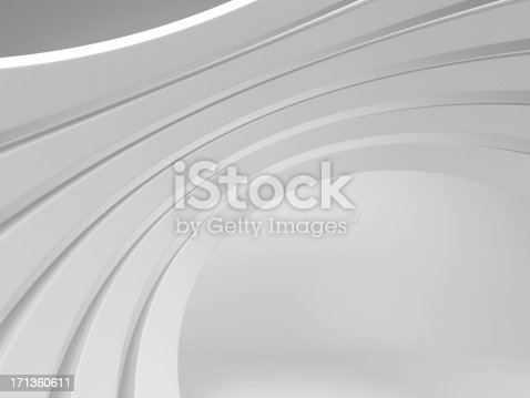 3d abstract architecture background