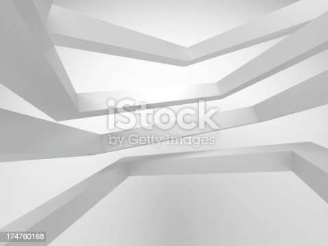 istock 3d abstract architecture background 174760168