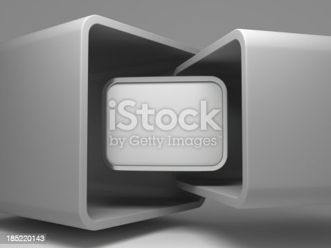 istock 3d abstract flying display background 185220143