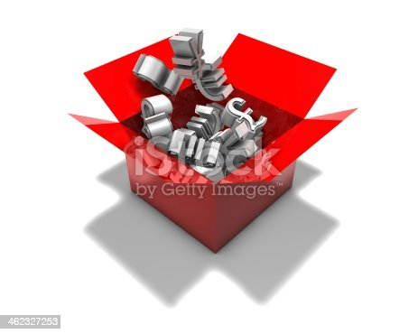 istock 3d abstract forex market concept illustration isolated 462327253