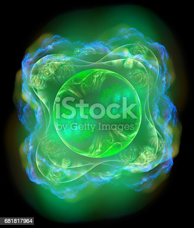 1017196524 istock photo 3d abstract fractal background 681817964