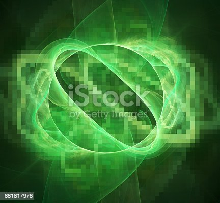 1017196524 istock photo 3d abstract fractal background 681817978