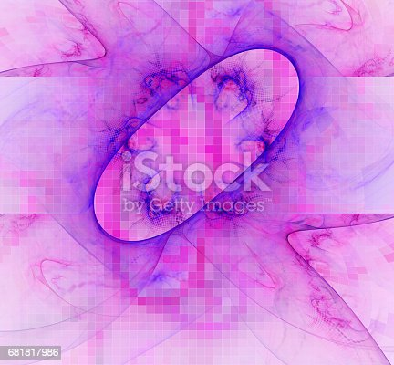 1017196524 istock photo 3d abstract fractal background 681817986