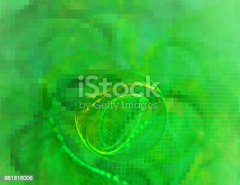 1017196524 istock photo 3d abstract fractal background 681818006
