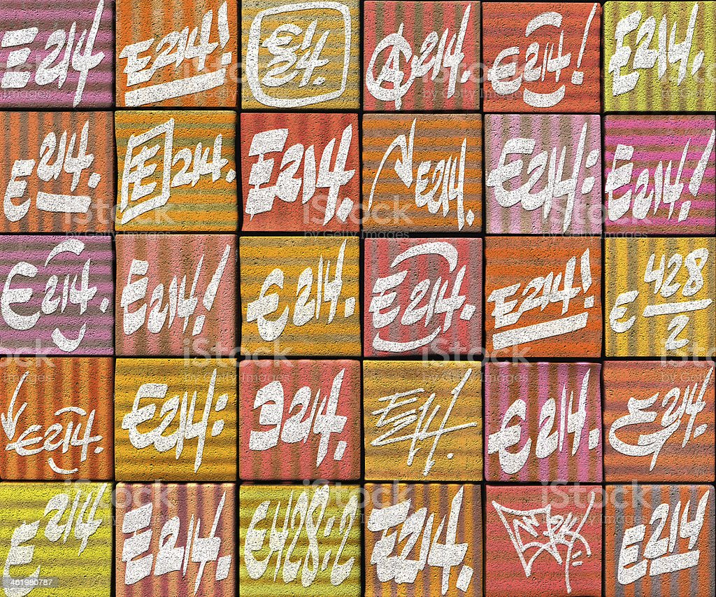 3 D Abstract Graffiti Aerosol Tag Telon De Fondo En Varios Colores