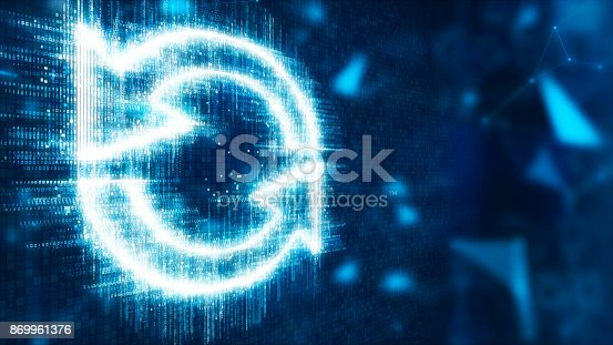 istock 3d abstract refresh 869961376