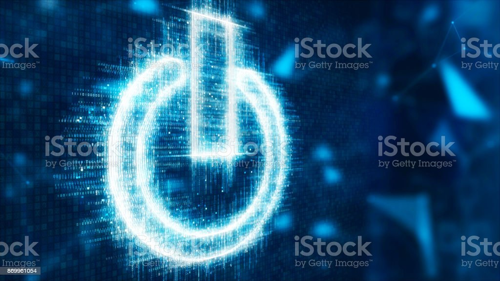 3d abstract switch stock photo