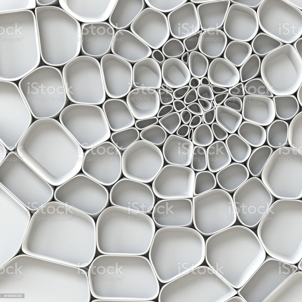 3d abstract white web background stock photo