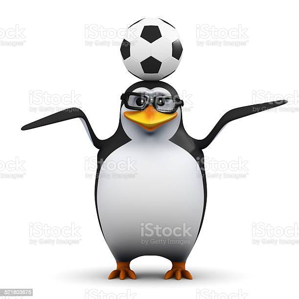 3d academic penguin balances a soccer ball on his head picture id521803675?b=1&k=6&m=521803675&s=612x612&h=3vte1c4awv1xeh4ld8towsl56xh9ujj7yfzdcwmmhqk=