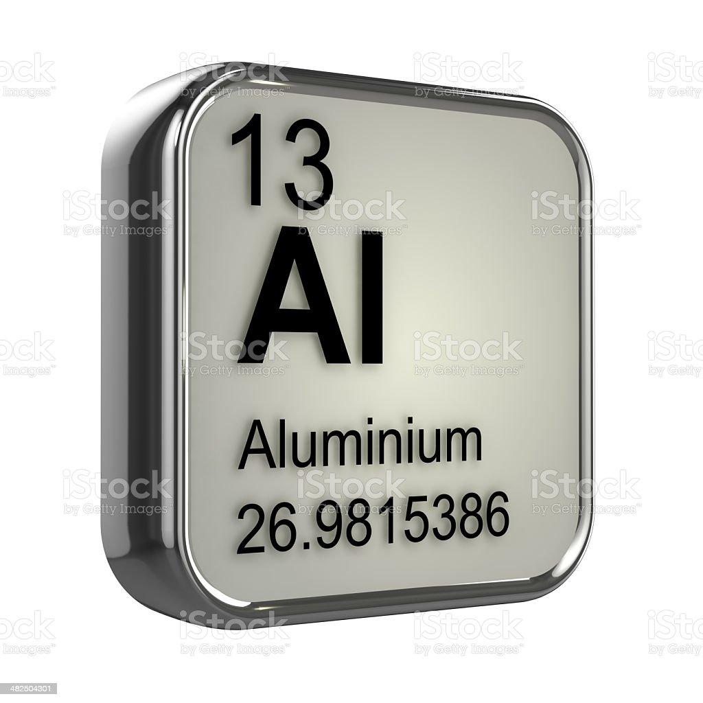 3d Aluminium element stock photo