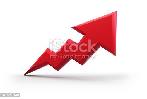istock 3d arrow icon 467286140
