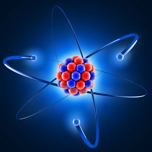 3d atom - atom stock photos and pictures