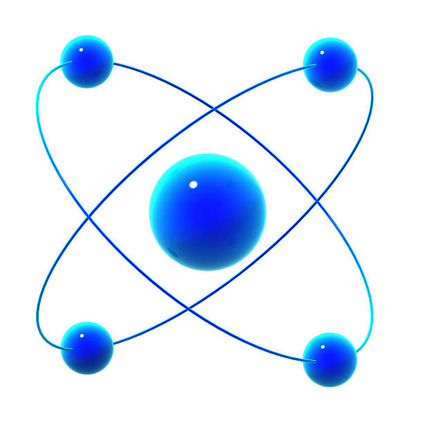 3d atomic particle - elementary particle stock photos and pictures