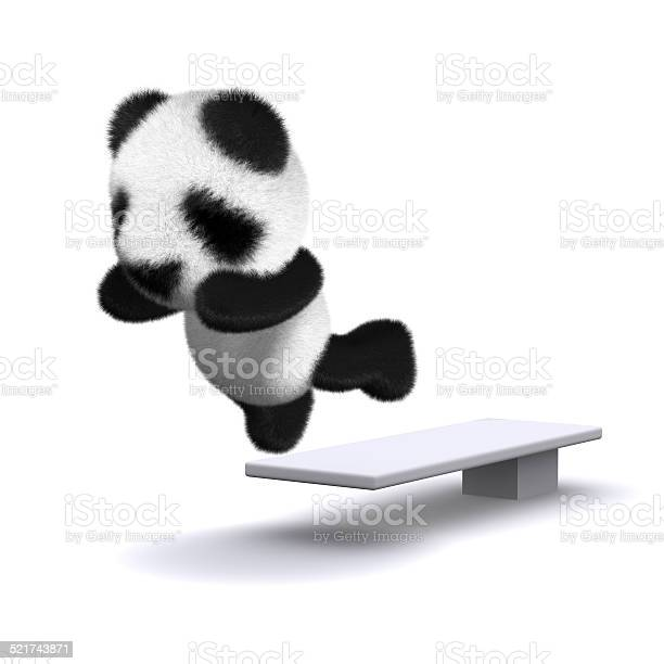 3d baby panda bear jumps off the diving board picture id521743871?b=1&k=6&m=521743871&s=612x612&h=omz4ja2nhiq ef01wco067zlvf l93qp37z7flnzqke=