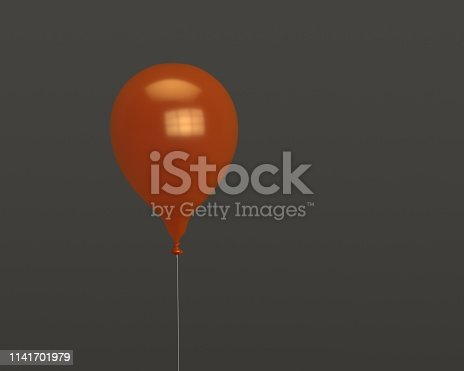 istock 3d balloon for party or birthday isolated on background 1141701979
