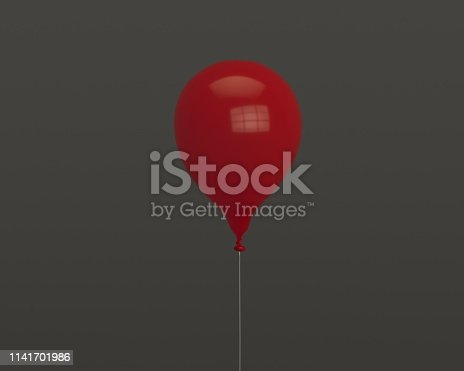 istock 3d balloon for party or birthday isolated on background 1141701986
