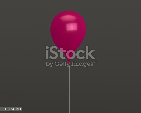 istock 3d balloon for party or birthday isolated on background 1141701991