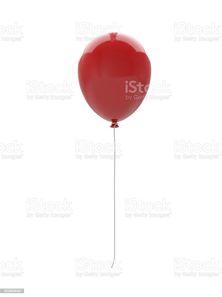 3d balloon stock photo