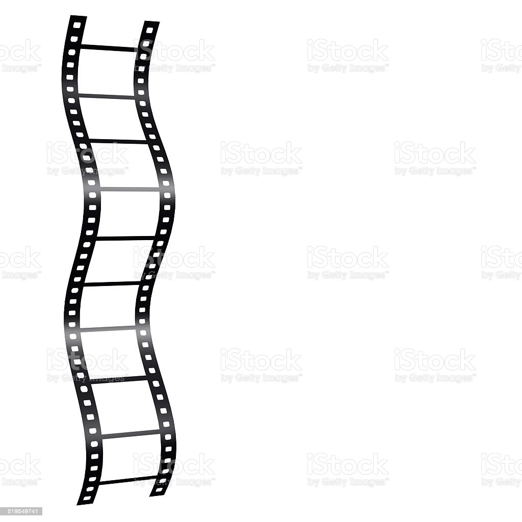 3d Blank Film Strip Stock Photo - Download Image Now - iStock