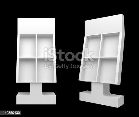 istock 3d blank Floor Stand 142350400