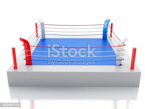 3d boxing ring against isolated white background imagens de acervo 3d boxing ring against isolated white background imagens de acervo e mais fotos de atividade istock ccuart Images