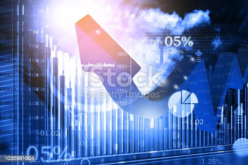 istock 3d business arrow chart showing financial growth 1035991604